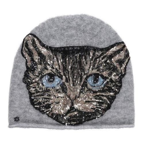 Faisa Knit Sequin Cat Hat by Gustav