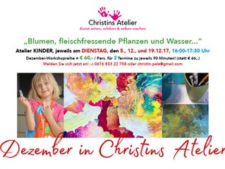 Dezember in Christins Atelier!
