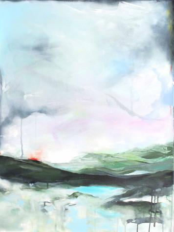Paysage pastel