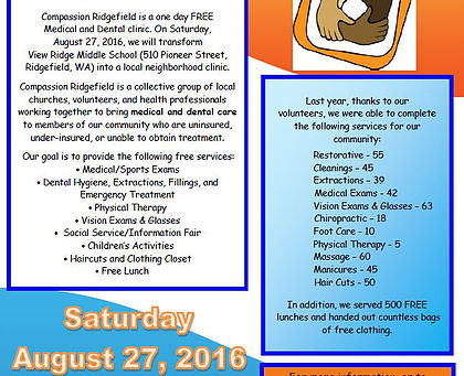 Compassion Ridgefield 2016