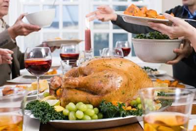 Christmas Meal Distribution