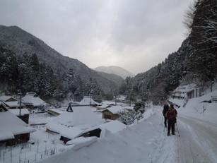 比良山でスノーシュー