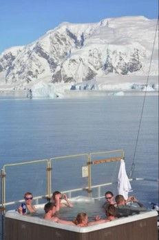 南極ジャグジー