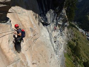 ツェルマットのヴィア・フェラータとブライトホルン登山