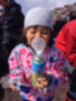 富士山で酸素吸引