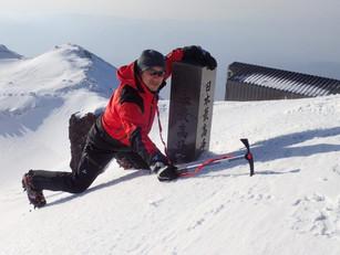 雪の富士山に登ってきた!
