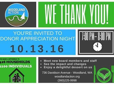 Donor Appreciation Night
