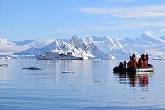 南極ウィルヘルミナ湾