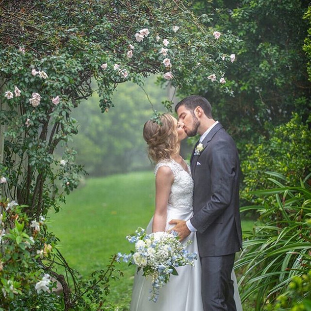 LOVE this image of our Saturday wedding