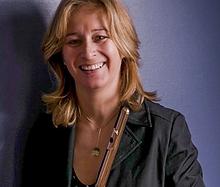 Sandrine François, professeur de Flûte à l'Académie d'été de Musique à Groix en Bretagne
