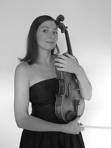 Sophie Groseil, professeur d'Alto à l'Académie d'été de Musique à Groix en Bretagne