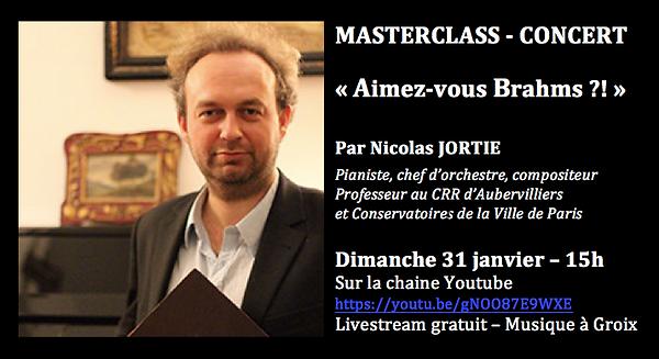 Masterclass Brahms 310121 15h par Nicola