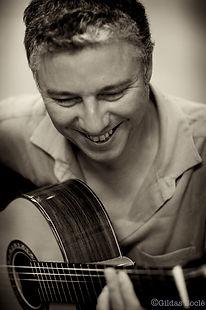 Pierrick Hardy, professeur de Jazz et improvisation à l'Académie d'été de Musique à Groix en Bretagne