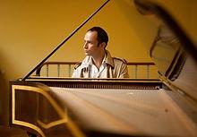 Frédéric Rivoal, professeur de Clavecin à l'Académie d'été de Musique à Groix en Bretagne
