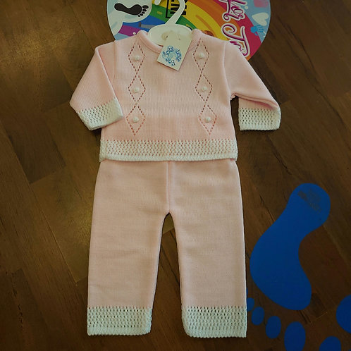 Little Nosh Knitted Trouser Set