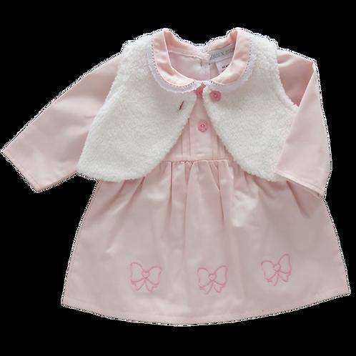 Kris X Kids Little Bow Dress & Waistcoat