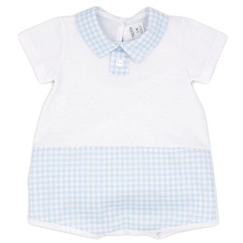 Rapife white/blue romper 4510S21