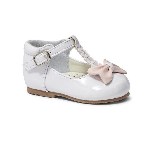 Sevva Emily White & Pink Shoes
