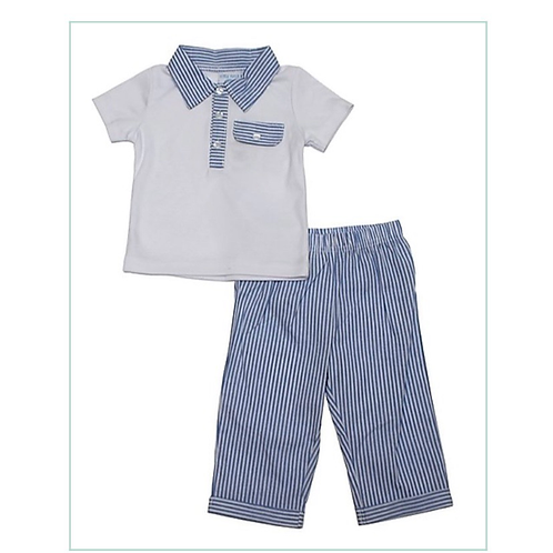 Little Fella T-shirt and trouser set