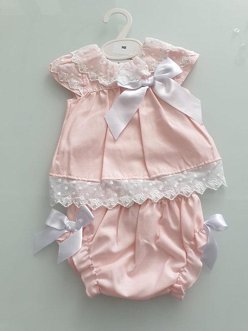 Little Nosh Dress & knickers set (small fitting)