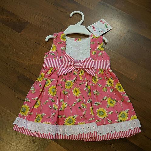 Alber Floral Bow Waist Dress