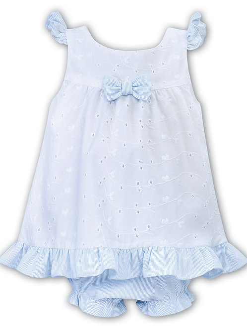 Sarah Louise dress and bloomers set