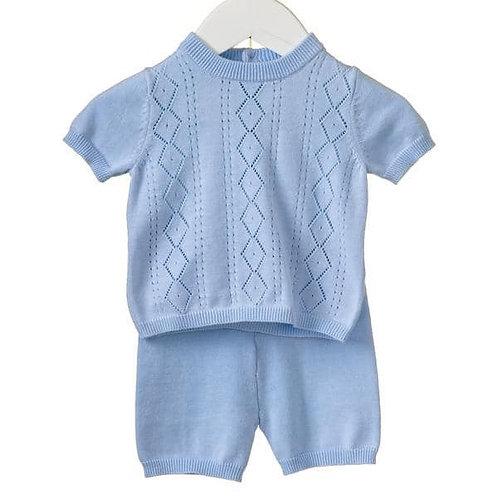 Bluesbaby shorts set