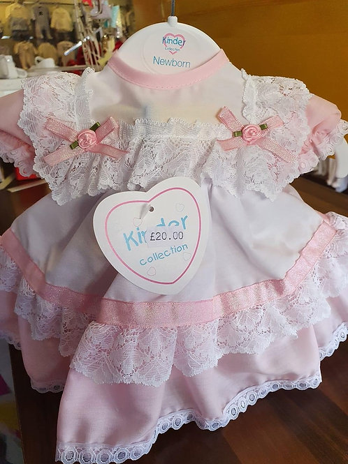 Kinder frilly dress
