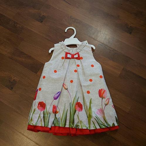 Alber A-line Floral Dress