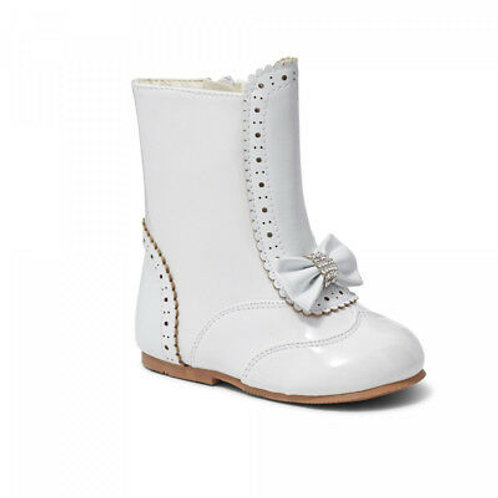 Sevva Hannah White Boots