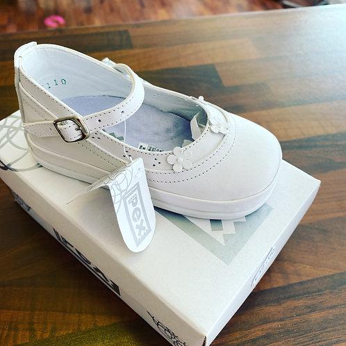 PEX Topaz White Shoes