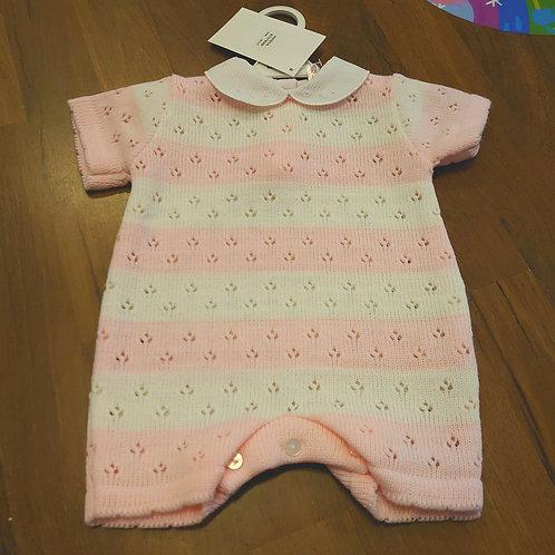 PEX Anissa Stripe Knitted Romper