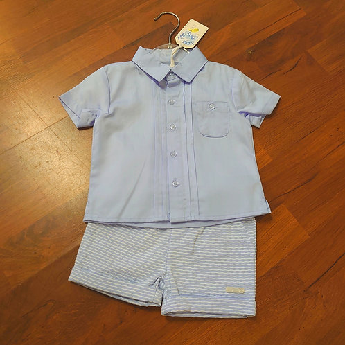 ZipZap Blue Shirt & Shorts Set