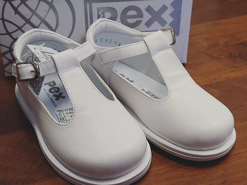 PEX Stef Junior White Shoes