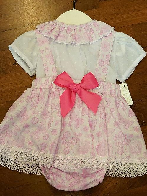 Pex Floral Skirt & Blouse Set