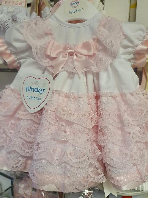 Kinder frill dress