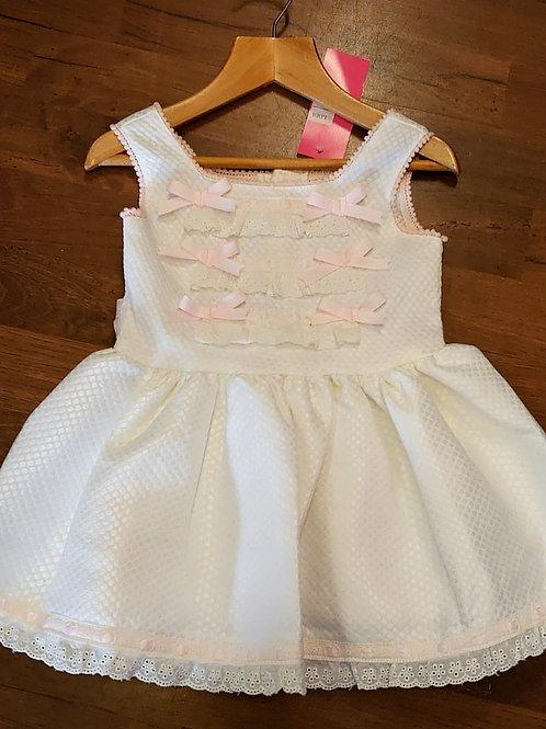 Sevva Cream Slip Dress (small fitting)