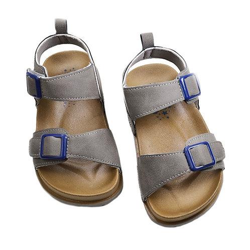 Grey summer sandals
