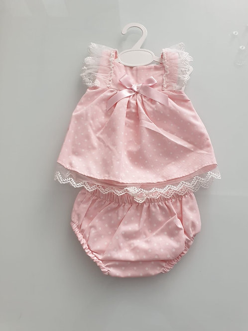 Little Nosh Dress & knickers set (small fitting)