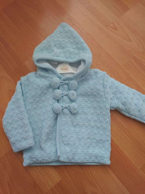 Little Nosh Pom Knitted Jacket
