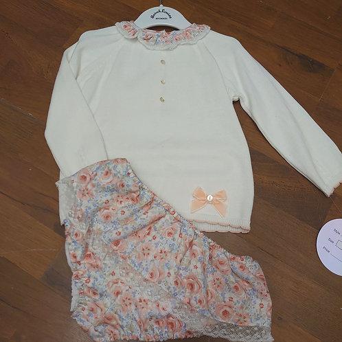 Sarah Louise Knitted Top & Jam Pants