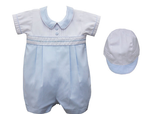 Pretty Original Traditional Romper & Hat