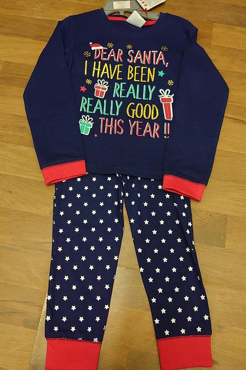 Mini Kidz Dear Santa Pyjamas