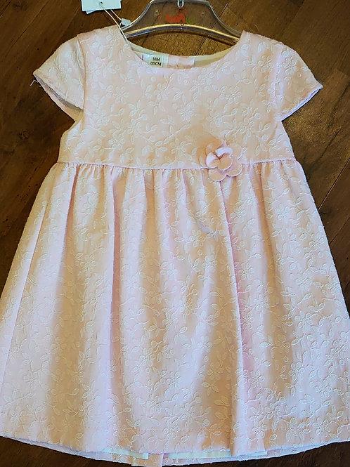 Babybol Pink Short Sleeve Dress