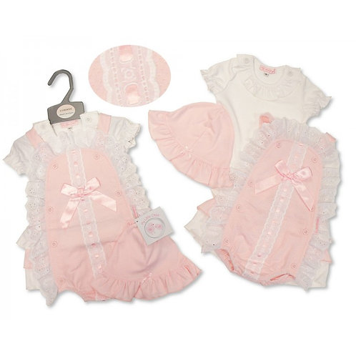My Little Chick Frilly Romper & T-Shirt