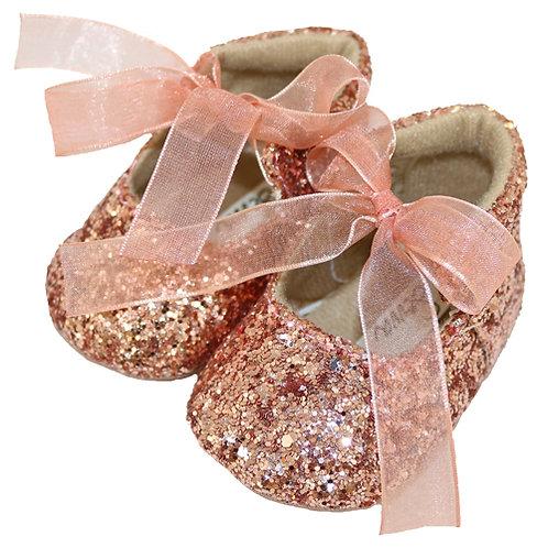 Sevva Zoe Glitter Pram Shoes