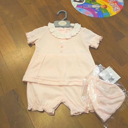 My Little Chick Pink Short Set
