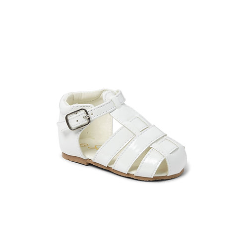 Sevva Ralph White Sandals