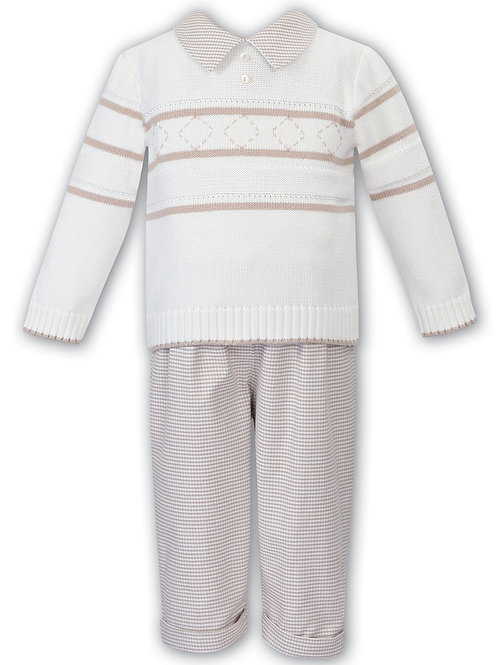 Sarah Louise jumper and trouser set