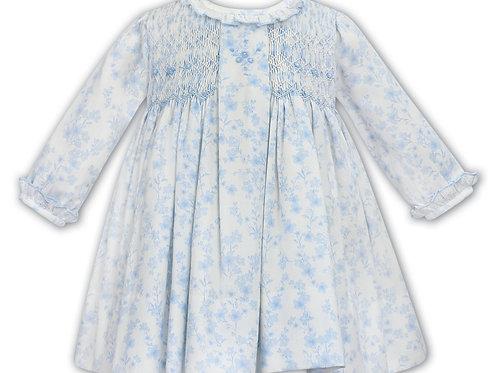 Sarah Louise Traditional Floral Print Dress
